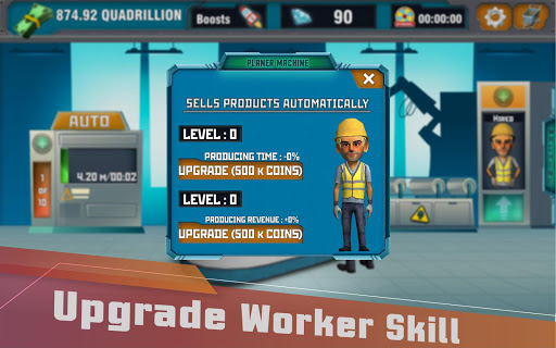Factory Tycoon : Idle Clicker Game 0.4 screenshots 12