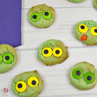 Monster Eyeball Cookies.