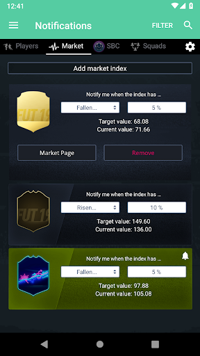 FUT 20 Draft, Squad Builder & SBC - FUTBIN screenshot 5