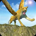 León del vuelo  Wild Simulador icon