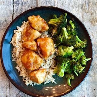 Garlic Chicken Vegetables Over Rice Recipes