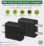 Largest Manufacturer Of OEM Android Smart Chargers In India  HGD INDIA