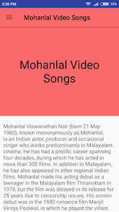 Mohanlal Hit Video Songs - Malayalam - náhled
