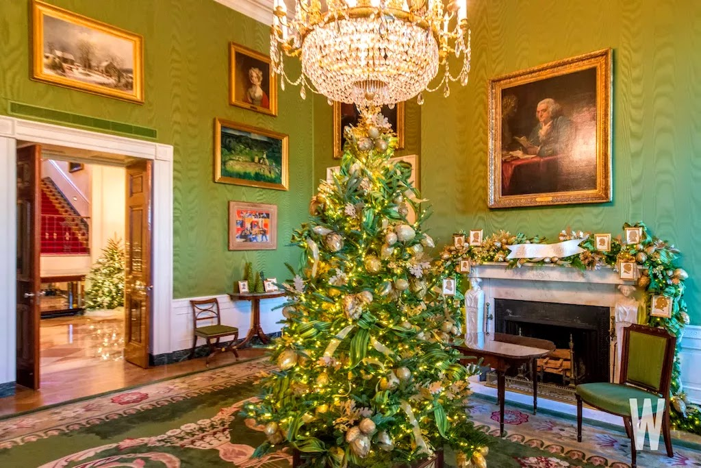 COTE DE TEXAS: The First White House Christmas for the New President