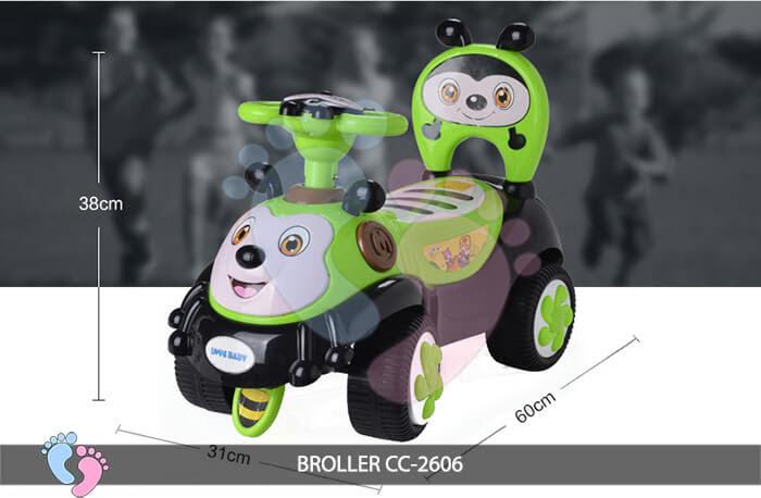 Xe chòi chân trẻ em Broller CC-2606 6