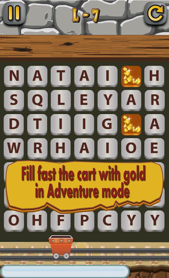 WordMine - screenshot