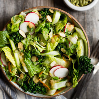 Spring Salad with Lemongrass Vinaigrette