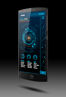 SYSTEM-X for KLWP - náhled