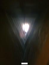 Photo: نماي بزرگ ترين بادگير جهان از داخل عمارت
