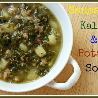 Sausage, Kale and Potato Soup.