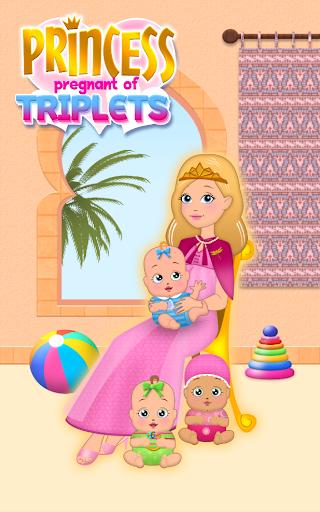 Princess Pregnant of Triplets