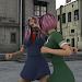 Schoolgirl Fighting HD icon