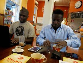 Photo: Kelvin Adu-Twum and Richmond Ghansah