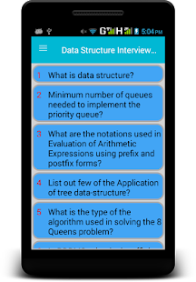Data Structure Interview Questions - náhled
