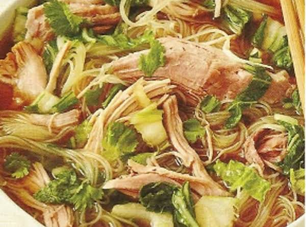 Slow Cooker Pork With Noodles
