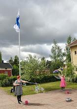 Photo: Karhula-Koti 20-vuotta. Kuvat Raimo Oksala ja Nadja Kuukka.