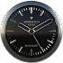 Black Silver Clock Widget v2.51