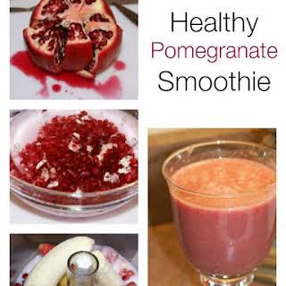 Antioxidant Pomegranate Smoothie.