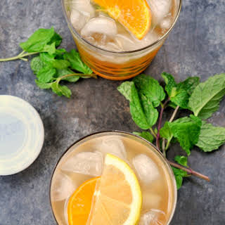 Tangerine Lemonade Smash by the Pitcher.