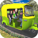 Offroad Auto Rickshaw Tuk Tuk Driving Simulator icon
