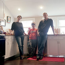 Photo: title: Meadow, Lucas & Steve Stafford, Baltimore, Maryland date: 2011 relationship: friends, met through Sarah Litchfield years known: Meadow 20-25; Steve 0-5