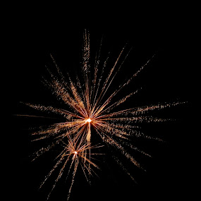 Boom by Amanda Burton - Abstract Fire & Fireworks ( abstract, fireworks )