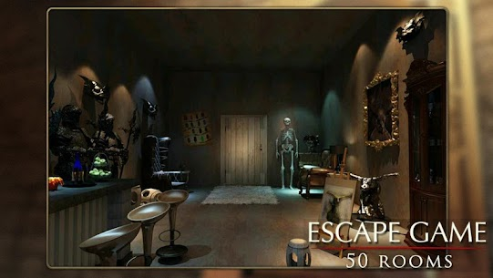 Escape Game: 50 rooms 1 Mod Apk (Unlimited Hints) 3