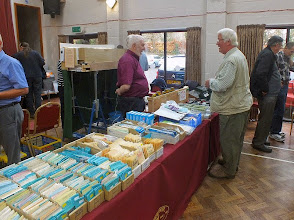Photo: 006 Bob and Julie Cope brought the 7mm NGA sales stand all the way from Northamptonshire for the day .