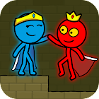 Red and Blue Stickman : Animation Parkour