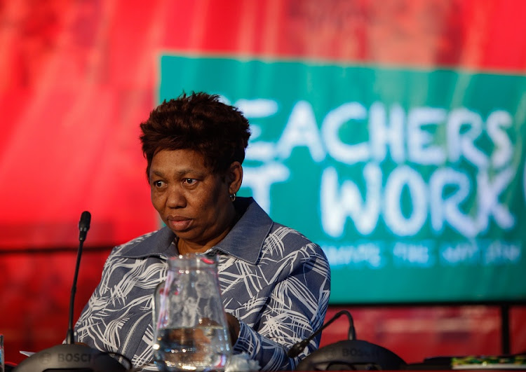 Basic Education Minister Angie Motshekga. Picture: SUNDAY TIMES