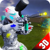 Paintball Arena Combat: Battlefield Shooting Force