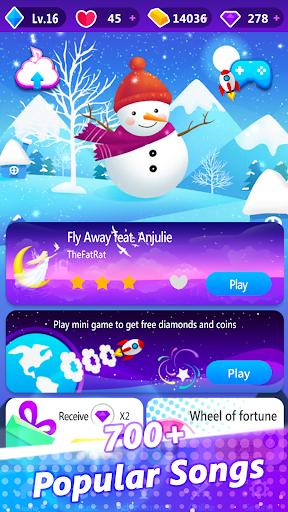 Magic Piano Pink Tiles - Music Game android2mod screenshots 4