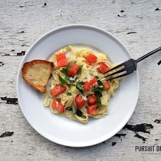 Basil Tomato Fettuccine Recipe