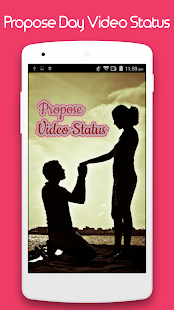 Propose Day Video Status - náhled