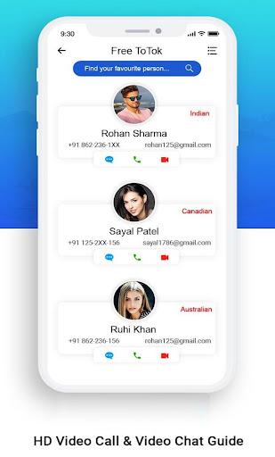 ToTok Free Video Calls & ToTok Guide Tips 1.5 screenshots 3