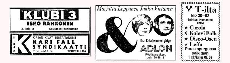 Helsingin menot 11.11.1969