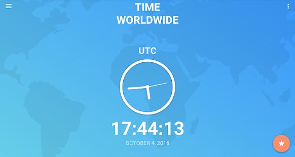 8 utc time zone
