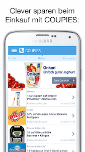 COUPIES Coupons im Supermarkt screenshot 0