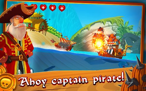 Pirate Ship Shooting Race - náhled