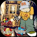 Cheerful Graffiti Street Theme icon