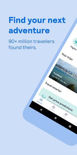 Skyscanner – cheap flights, hotels and car rental screenshot 1
