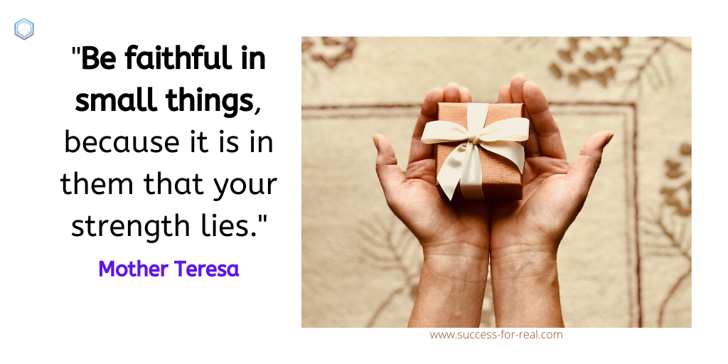 365 Success Quotes For Motivation - Picture Quote By Mother Teresa