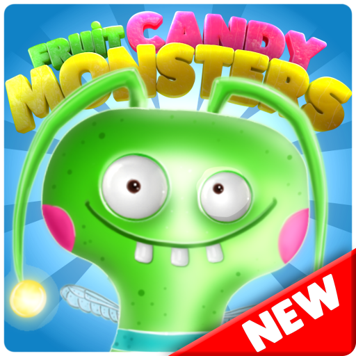 Candy Monsters - Pop The Fruit Candy Juice Crush Icon