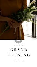Grand Opening Bouquet - Facebook Story item