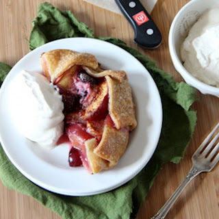 Mini Skillet Cherry Peach Pies
