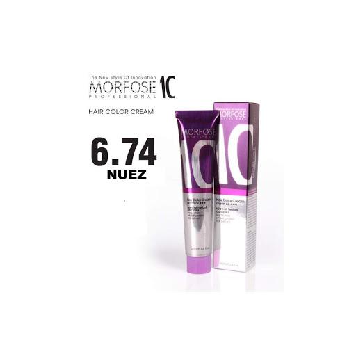 tinte morfose tubo 10 crema nuez 6.74 100ml