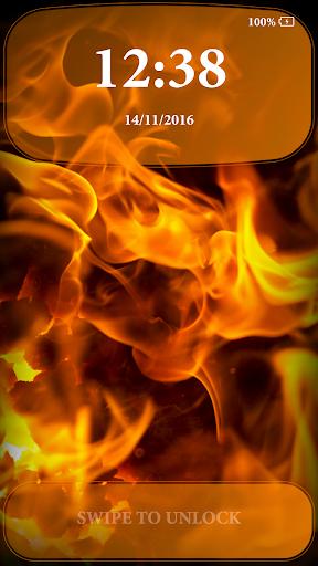 Fire Lock Screen 2.4 screenshots 2