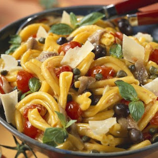 Parmesan and Anchovy Pasta Salad