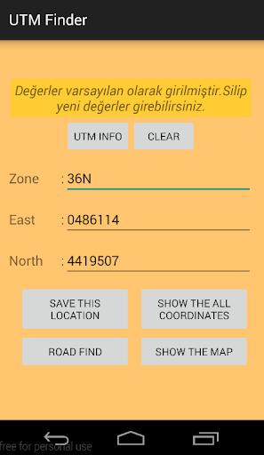 UTM Finder