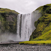 Waterfall Skogafoss Wallpapers